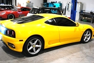 Ferrari Modena Service and Repair  Ferrari 360 Modena maintenance service and repairs