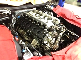 Ferrari Valve Job and Engine Repair