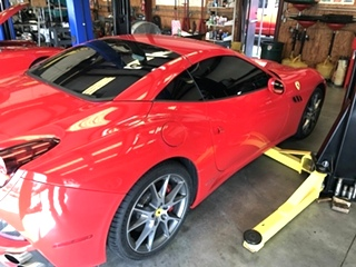 Ferrari Service and Repair Ferrari California Service and Repair